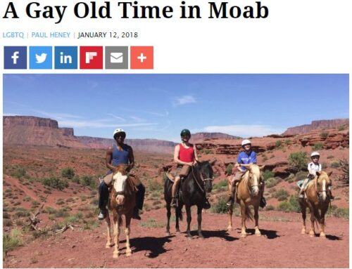 A Gay Old Time in Moab